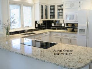 Buy the Best Ambar White Granite Kitchen Worktop