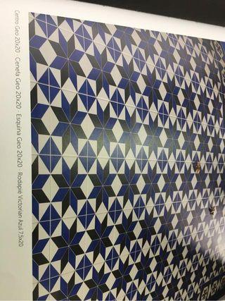 Gres mosaico centro geo 20x20