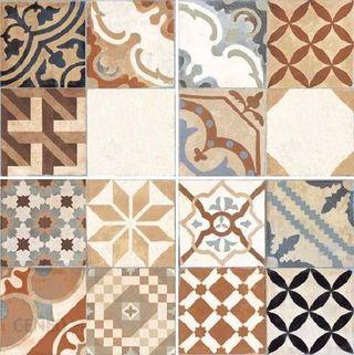 Gres mosaico 45x45 moments mix y gris en 1 calidad
