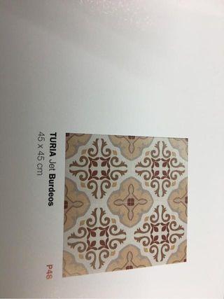 Gres mosaico 45x45 Turia en 3 colores 1 calidad