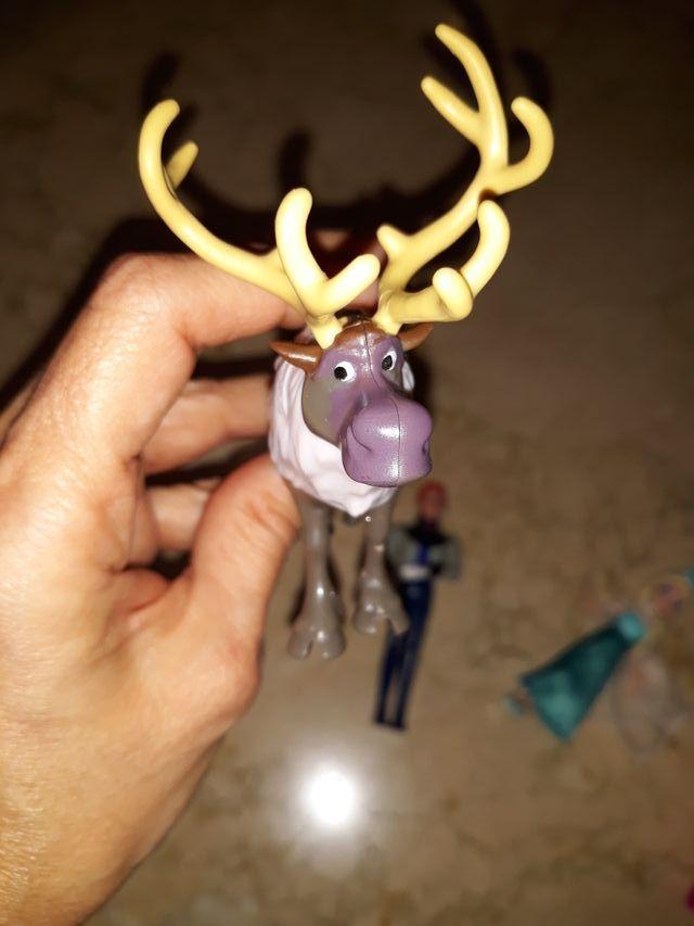 Kit Figuras Frozen de Disney ORIGINALES Como NUEVO