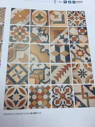 Gres mosaico pavimento heraldo 20x20