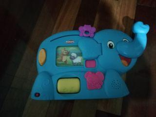 elefante playskool primeras palabras