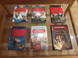 "Colección de libros de ""Gerónimo Stilton"""