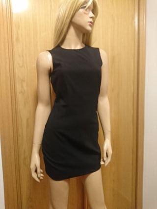 vestido básico zara
