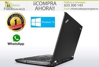 Portátil Lenovo T430, i5, 12Gb Ram, Windows 10 Gra