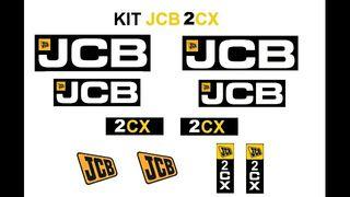 PEGATINAS JCB 2CX ( Envío GRATIS)