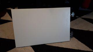 Puerta Ikea Besta blanca mate con bisagras