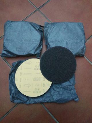 Discos Para Lijadora D180mm P40