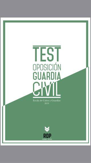 TEST GUARDIA CIVIL 2019 RDP