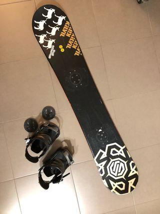 Snowboard Santa Cruz 161 solo tabla