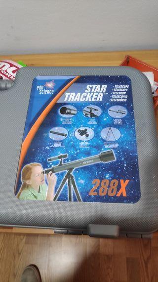 Telescopio edu science star tracker