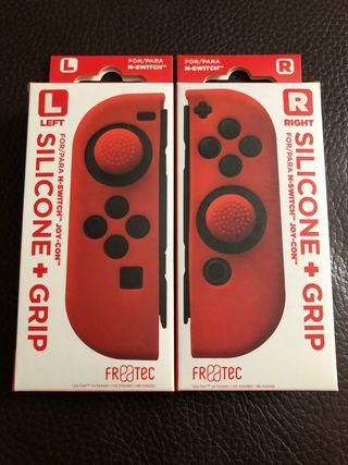 Fundas Joy-Con Nintendo Switch Rojos