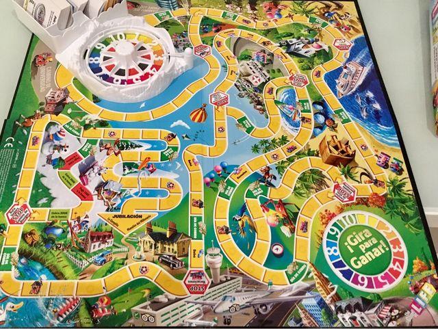 Juego De Mesa The Game Of Life Juego De La Vida De Segunda Mano