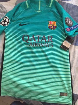 Camiseta tercera equipacion fc barcelona