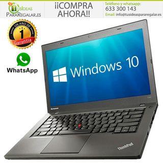Portátil Lenovo T450, i5, Cam, Ultra Fino, Windows