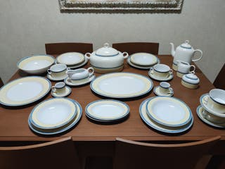 Vajilla porcelana fina Boheme + 90 piezas thun