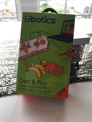 Juego Electronica. Croc & Play.