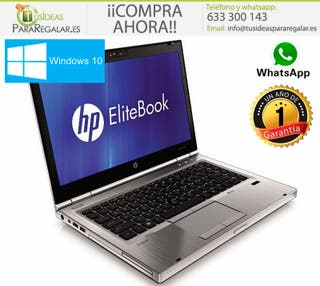 Portátil Hp EliteBook 8460p, I5, 12Gb Ram, Windows