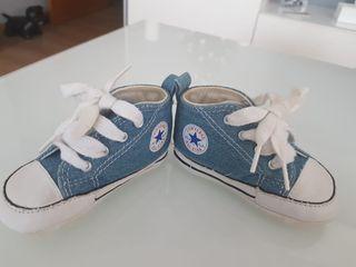 Zapatillas Converse bebé. Talla 18 de segunda mano por 12
