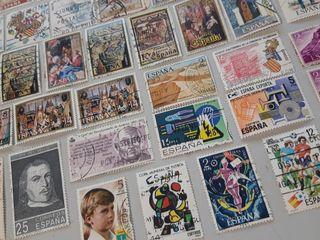 45 sellos de España 1969