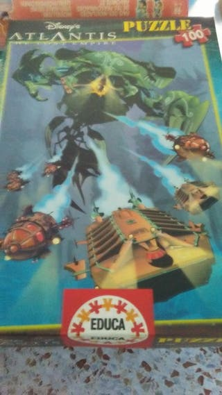 Puzzle Atlantis Disney 100 piezas