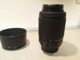 Objetivo Nikon AF-S DX VR 55-200mm f4-5.6 G.
