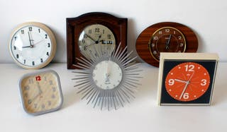 Lote de seis relojes vintage. NO FUNCIONAN.