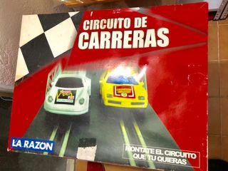 Scalextric circuito de carreras