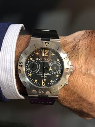 bdfa5c26fca45 Reloj Bulgari de segunda mano en Barcelona en WALLAPOP