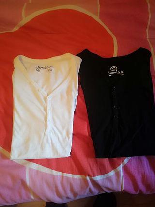 camisetas hombre bershka