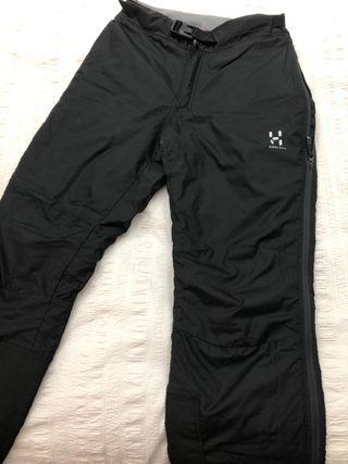 Pantalones fibra mujer xs haglofs