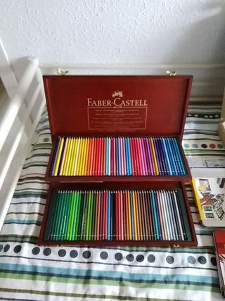 Caja de 100 Lapices Faber-Castell