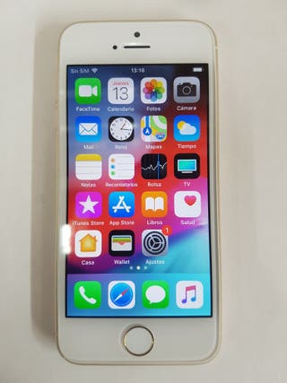 IPHONE 5S GRIS ORO 16GB LIBRES Sin huella