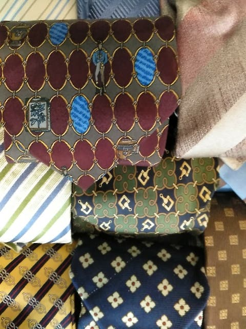 lote 11 corbatas vintage