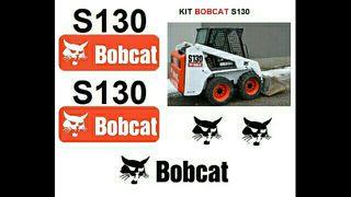 Pegatinas BOBCAT S130