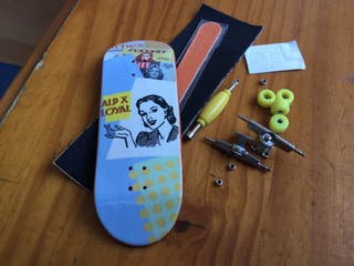 32 mm fingerboard complete set