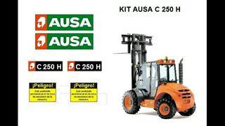 Pegatina Ausa C250H