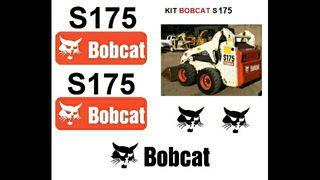Pegatinas BOBCAT S175