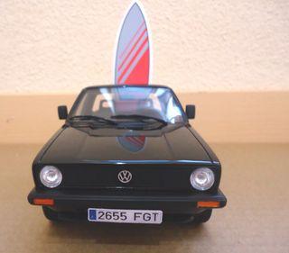 MAQUETA VW SURF CADDY 1: 18