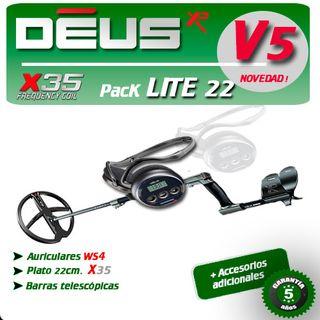 Detector de metales XP DEUS Pack LITE