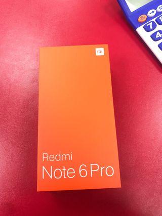 Xiaomi redmi note 6 pro (NUEVOS)