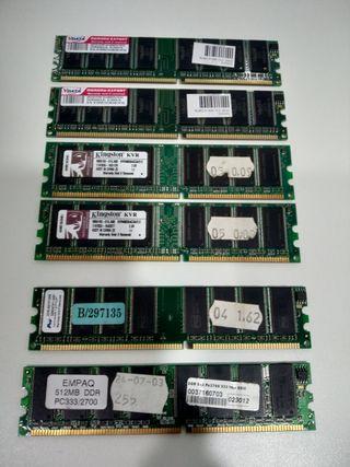 Memorias DDR400 Marca