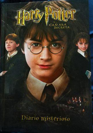 Diario Misterioso Harry Potter y la cámara secreta