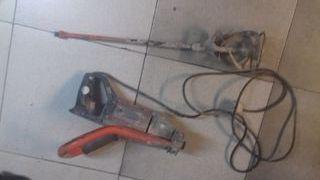 batidor de cemento masa pintura..