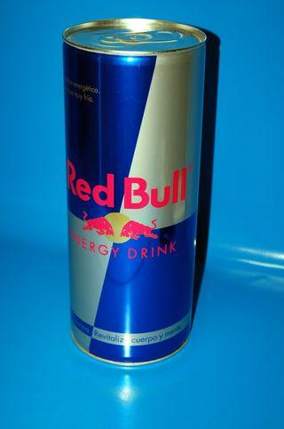 Lata decorativa gigante Red Bull 40x16 cm Aprox.