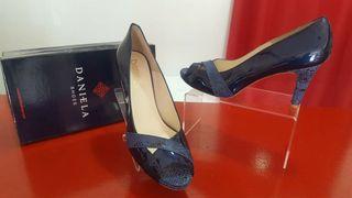 zapatos mujer número 42 piel