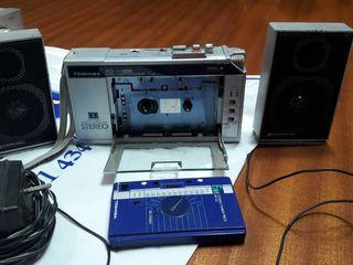 Radio Cassete y grabador.