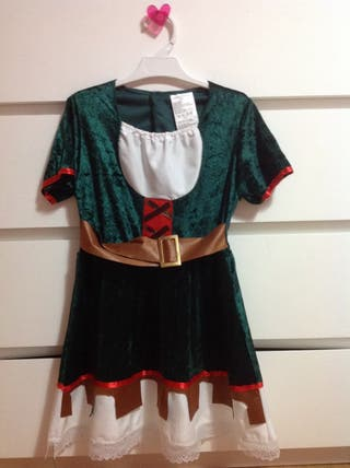 Disfraz niña, Robin Hood.