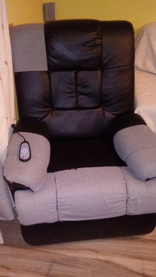 sofa relax masaje rodillos